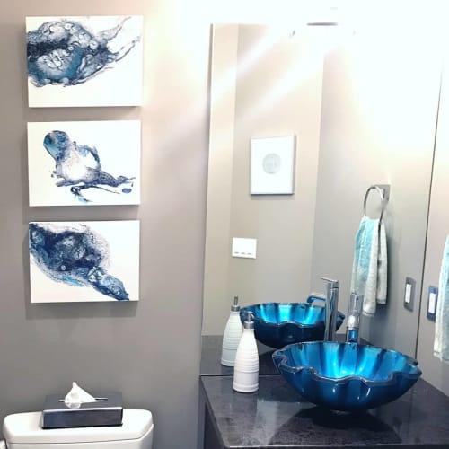 Triptych | Paintings by Brazen Edwards Artist