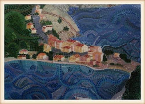 Paintings by Tania Christoforatou seen at Creator's Studio, Heraklion - Tania Christoforatou