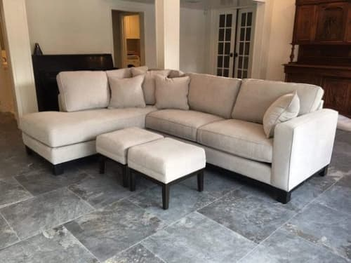 Surfside Sectional Sofa Chaise | Couches & Sofas by Larry St. John & Co. Custom Furniture