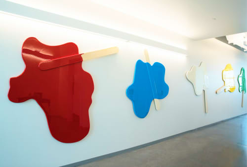 Art & Wall Decor by ANTLRE - Hannah Sitzer seen at Google RWC SEA6, Redwood City - Melted