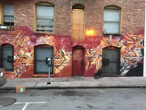 Murals by Max Ehrman (Eon75) seen at Tenderloin, San Francisco - For the love of the TL