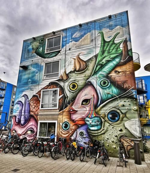 Mural   Murals by Andre Gonzaga Dalata   Bullewijk in Amsterdam