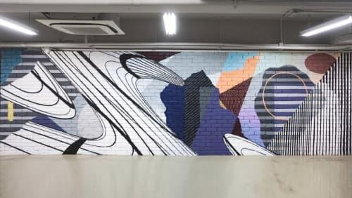 Murals by JAY KAES at Hong Kong - Fashion