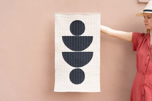 Motherwell Wall Quilt | Wall Hangings by Vacilando Studios | Savannah in Savannah