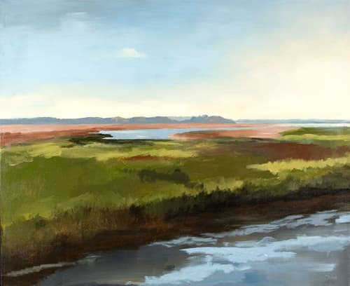 Morning Joy | Paintings by Keith Doles | Baptist MD Anderson Cancer Center in Jacksonville