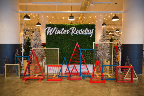 Interior Design by Isenberg Projects seen at The Innovation and Design Building, Boston - Winter Revelry