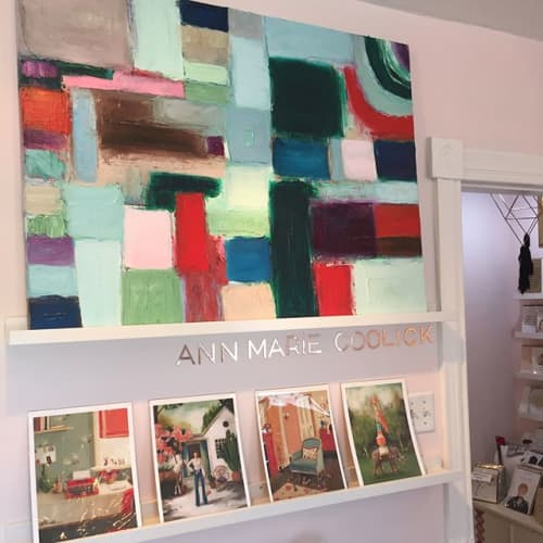 Paintings by Ann Marie Coolick Fine Art at Covet, Arlington - Evergreen Painting