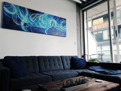 Paintings by Emilie Darlington seen at Private Residence, Toronto - Swell