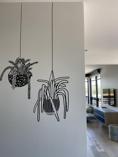 Vinyl Plants   Wall Hangings by Carissa Potter    People I've Loved   Hotel San Luis Obispo in San Luis Obispo