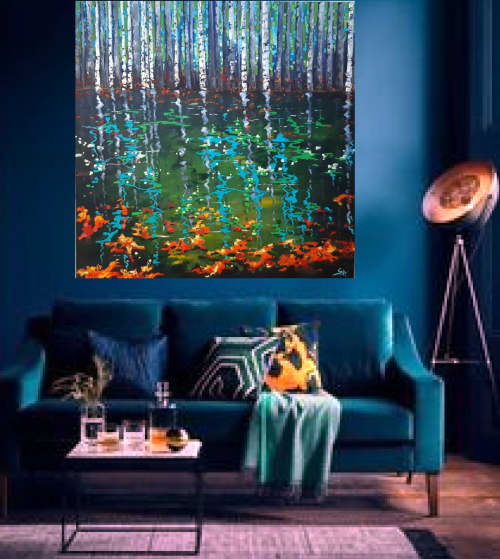 """""""Dreams and visions""""-SOLD 