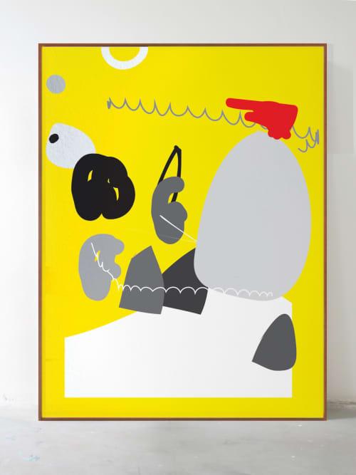 Acrylic on canvas   Paintings by Defi Gagliardo   UNION Gallery in BTK