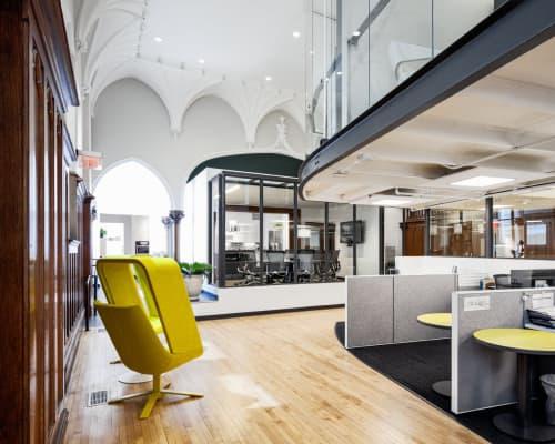 Chairs by Mike & Maaike at Haworth Showroom, San Francisco - Windowseat