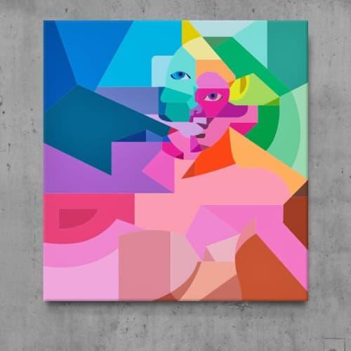 Art Curation by Moleiro Artwork at Private Residence - Miami, FL, Miami - La Mirada