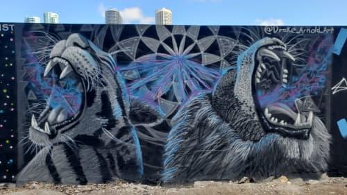 Wynwood Mural Festival - Art Basel Miami - Mural #03 - Dec. 2019   Murals by Drake Arnold