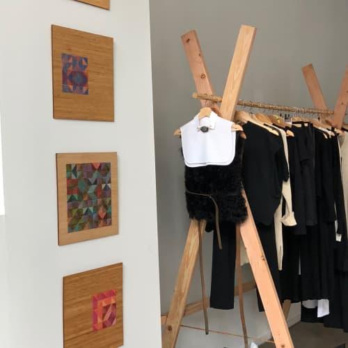 Crosshatch Collection | Wall Hangings by Nosheen iqbal