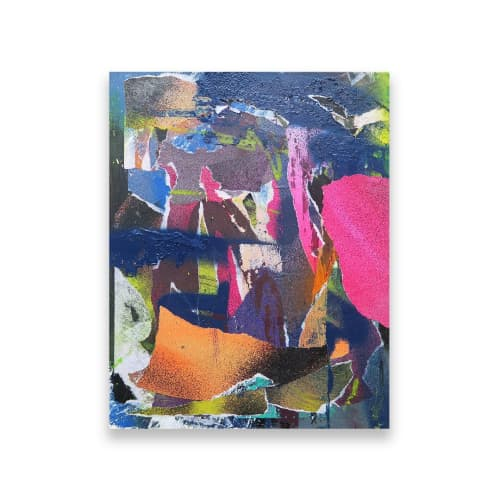 Paintings by Simon Beuve seen at Melbourne, Melbourne - Black Friday