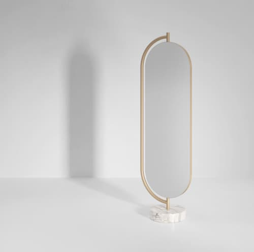 Furniture by SECOLO seen at Creator's Studio, Milan - Giove Mirror