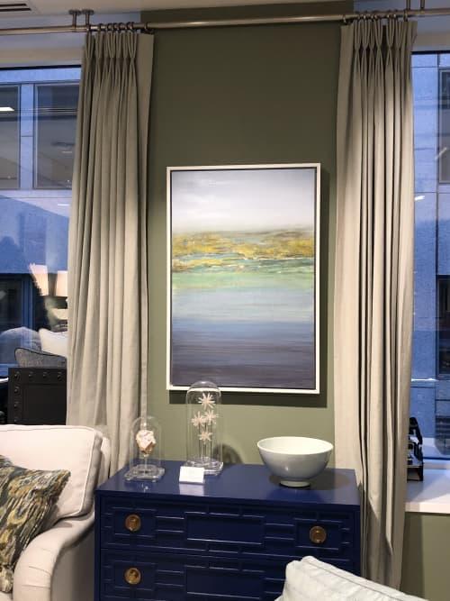Paintings by Lisa Tureson  STUDIO ARTISTICA seen at Century Furniture, Washington - Lakeshore