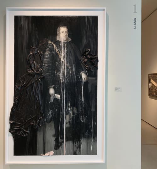 IV - Homenaje a Velázquez | Paintings by Alamà | Can Framis Museum in Barcelona