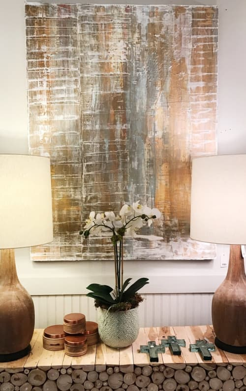 Abstract Painting | Paintings by Lucy Wellborn Art | Peridot West in Atlanta