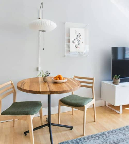 Orbit Teak Dining Table   Tables by From the Source