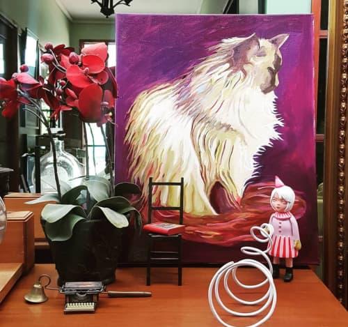 Kalinda   Oil Painting   Paintings by Paul Martin
