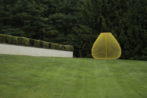 Yellow | Public Sculptures by John Ruppert | Katonah Museum of Art in Katonah