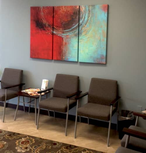 Artwork for Doctors Office | Paintings by ERIN ASHLEY