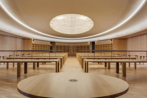 Sobre Task Light   Lamps by Koncept   Central Library in Calgary