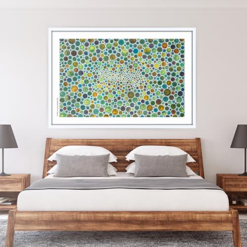 Art & Wall Decor by Seth B Minkin Fine Art at Seth B Minkin Studio + Showroom, Boston - White Circles III | Limited Edition Print | Multiple Sizes Available