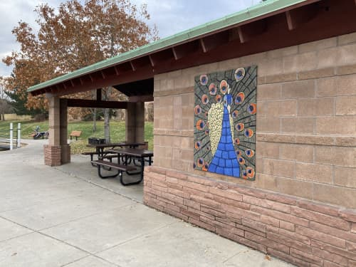Murals by Gregory Fields seen at 1615 Coalton Rd, Superior - Peacock Mural