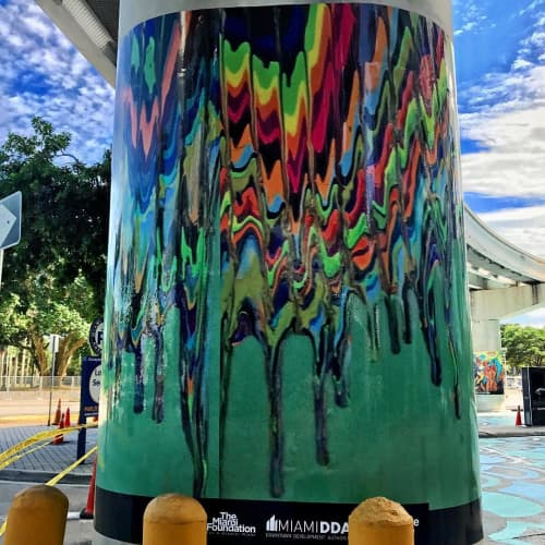 Biscayne Green Mural | Street Murals by Paolastudios