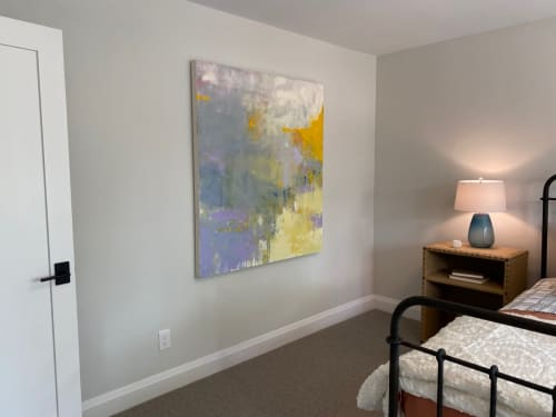 Paintings by Donna Bruni seen at Private Residence, Edina - Original oil on canvas by Donna Bruni