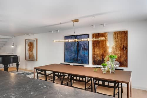 Interior Design by Linski Design - Concrete. Art. Microtopping. Art-topping. - FLAT WALL ART