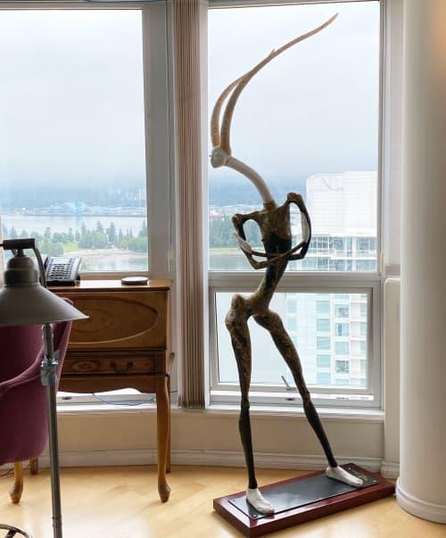 Gazelle Girl   Sculptures by Anyuta Studio