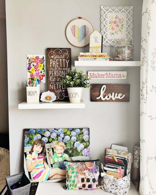 MakerMama   Art & Wall Decor by Wild Grace Goods   Selah Creative Company in Gearhart