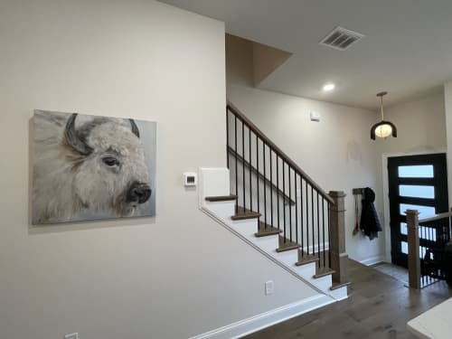 Kelly Frank   Paintings by Marilyn Landers