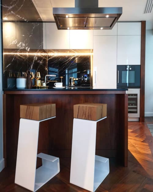THE WHITE LINE Bar Stools | Chairs by Baker Street Boys London