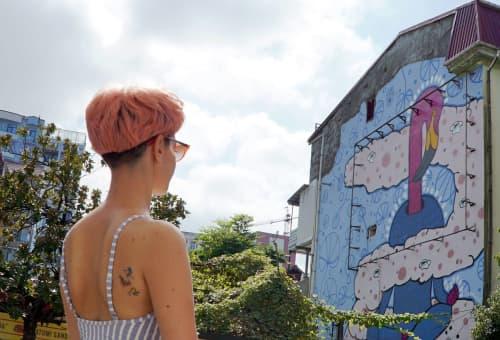 Niko x Masholand - Batumi 2020 | Street Murals by Masholand