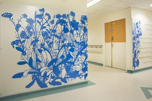 Murals by Jo Chapman at University Hospital Coventry & Warwickshire, Coventry - Keepsake