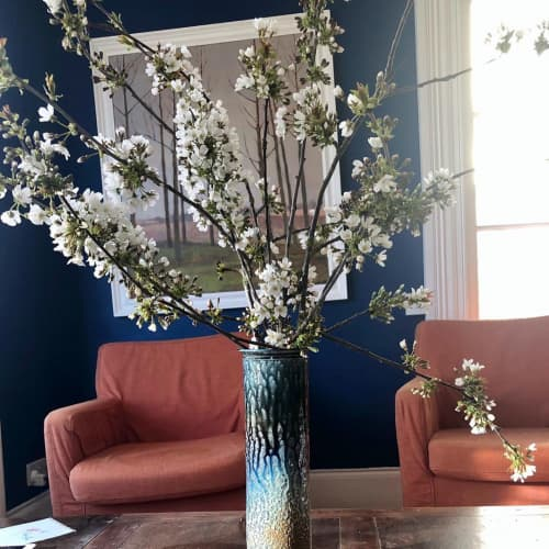 Tableware by Daniel Boyle Ceramics seen at Private Residence - Cylindrical vase