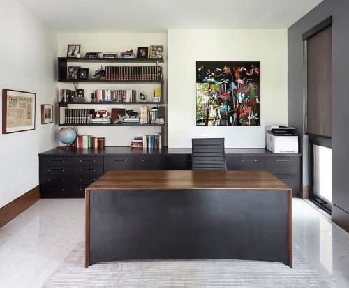 Waterfall Desk | Tables by Hamilton Holmes