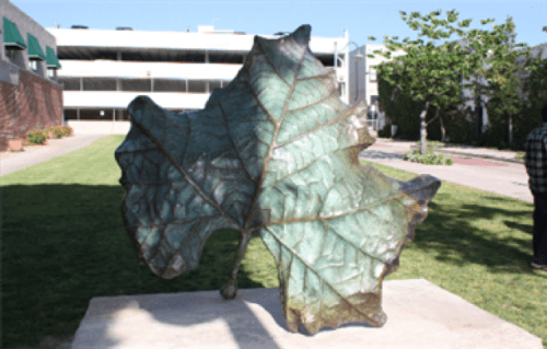 Public Sculptures by KevinBoxStudio. seen at City of Whittier Public Works, Whittier - From the Tree