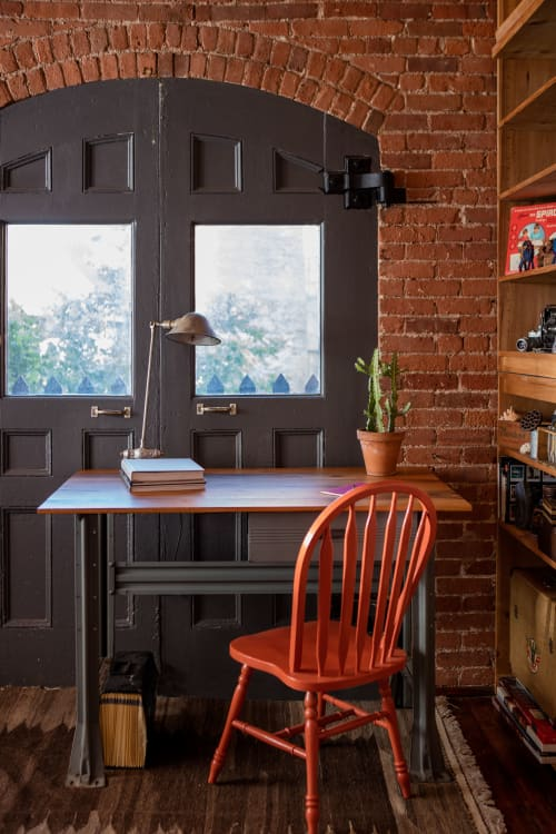 Furniture by Christian Thomas Designs seen at Private Residence, Providence, Providence - INDUSTRIAL DESK
