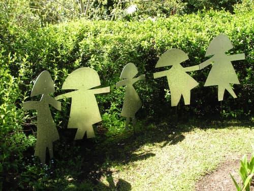 Passers by   Public Sculptures by Natalia Kujbida Artwork