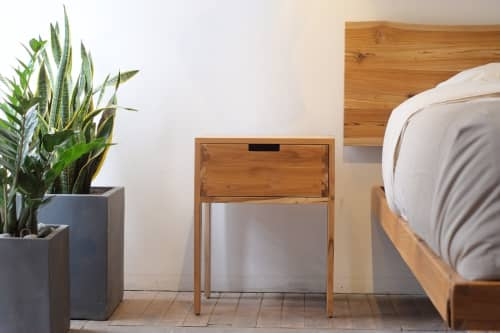 Stitch Side Table 1 Drawer   Tables by From the Source