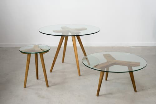 Quad Dining Table   Tables by From the Source