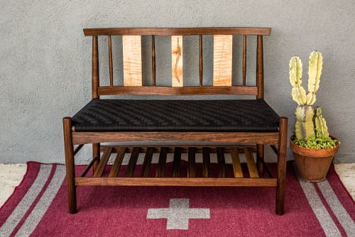 Benches & Ottomans by Brawley Made seen at Private Residence, Los Angeles - Salisbury Entry Bench
