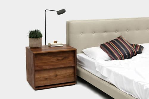 Beds & Accessories by ARTLESS seen at Private Residence, Los Angeles - Oliver Nightstand