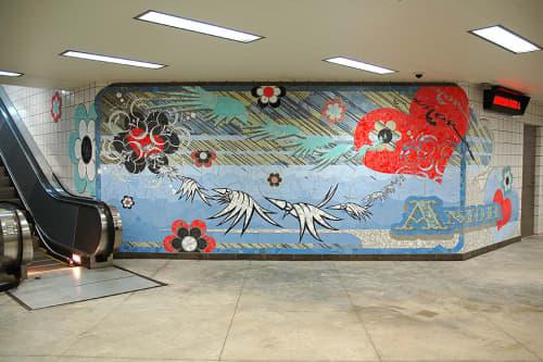 Amor   Street Murals by Chris Silva